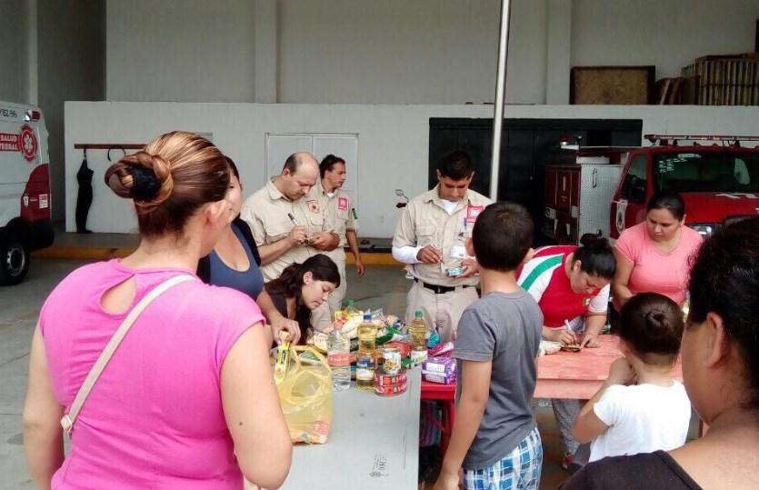 Entrega Gobierno Municipal de Zapopan 7 toneladas de víveres a la Cruz Roja Mexicana