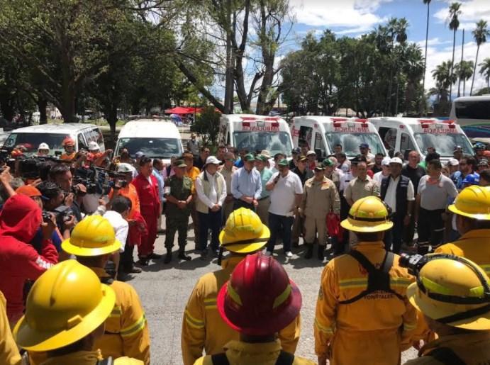 Concluye Zapopan la Misión Morelos con desmovilización de grupos de rescate