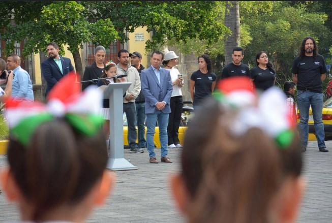 Zapopan rinde honores al lábaro patrio en el marco del Día de la Independencia de México