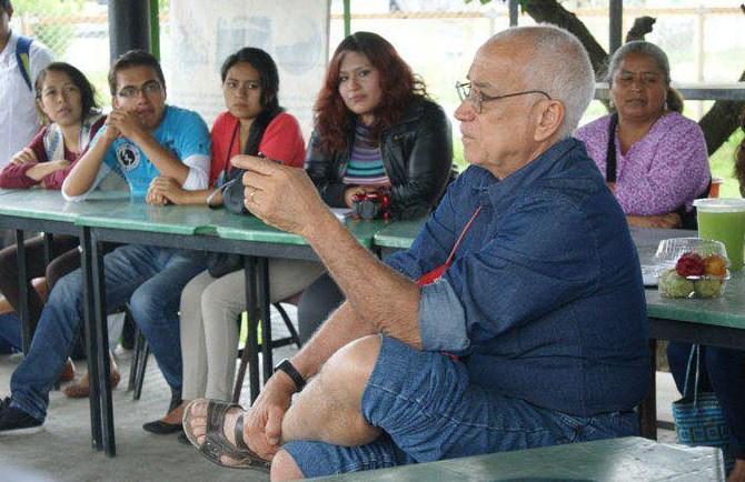 Sebastiao Pinheiro participará en el Encuentro de Construcción Colectiva y Comunitaria, en el Parque Agroecológico de Zapopan