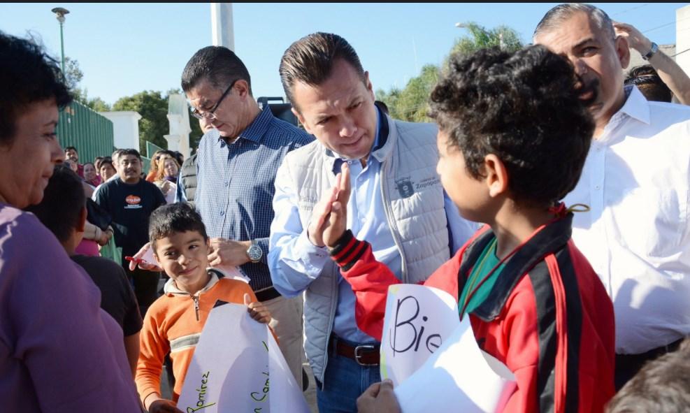 Zapopan, Ciudad de los Niños, brinda infraestructura social de calidad para dignificar la colonia El Fresno