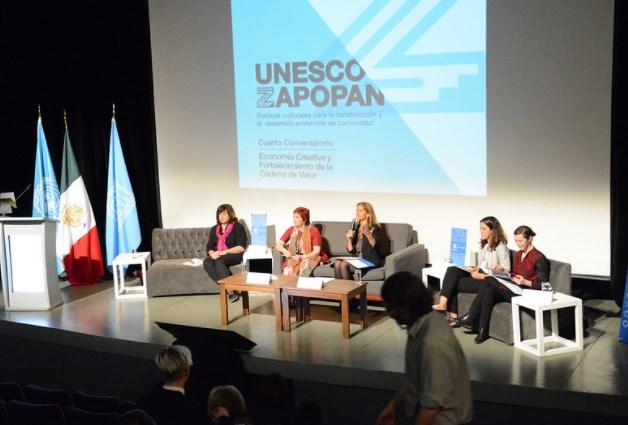 Cuarto Conversatorio UNESCO-Zapopan: Economía creativa y fortalecimiento de la cadena de valor