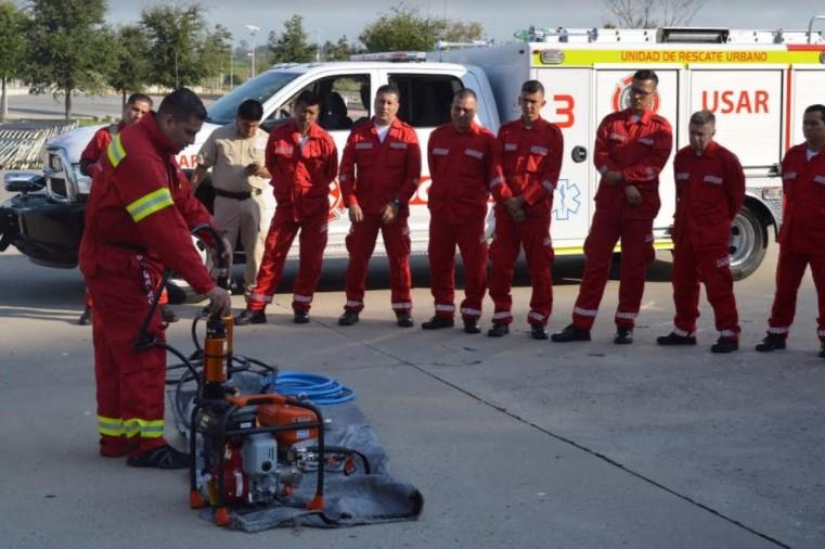 Paramédicos de Cruz Verde se suman a la Unidad USAR Zapopan