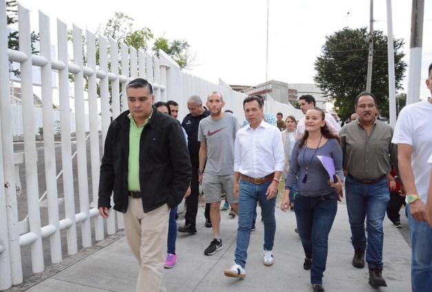 Zapopan realiza operativo en los alrededores del Estadio Panamericano de Béisbol