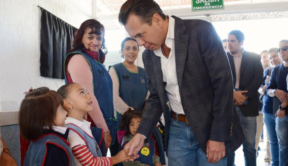 Inaugura Zapopan, Ciudad de los Niños, renovación integral del Centro de Desarrollo Infantil número 5 'El Colli'