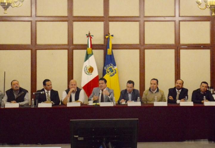 Zapopan participa en reunión de la Coordinación de Seguridad Metropolitana