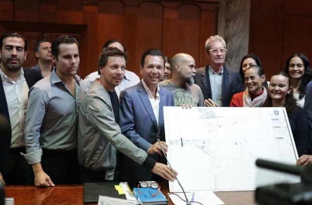 Gobierno de Zapopan y Colonias Unidas avalan proyecto final para construcción de Parque Estación Basílica