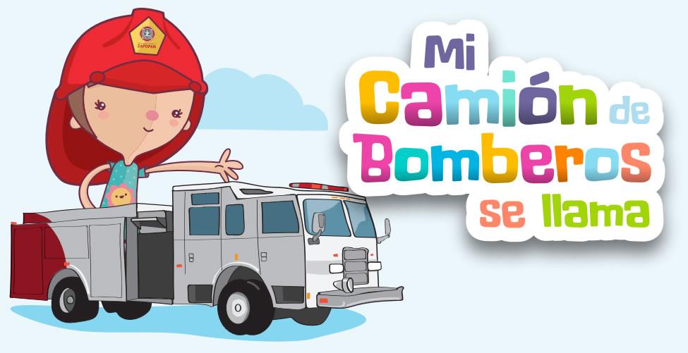 Concurso para niños y niñas «Mi Camión de Bomberos se llama»