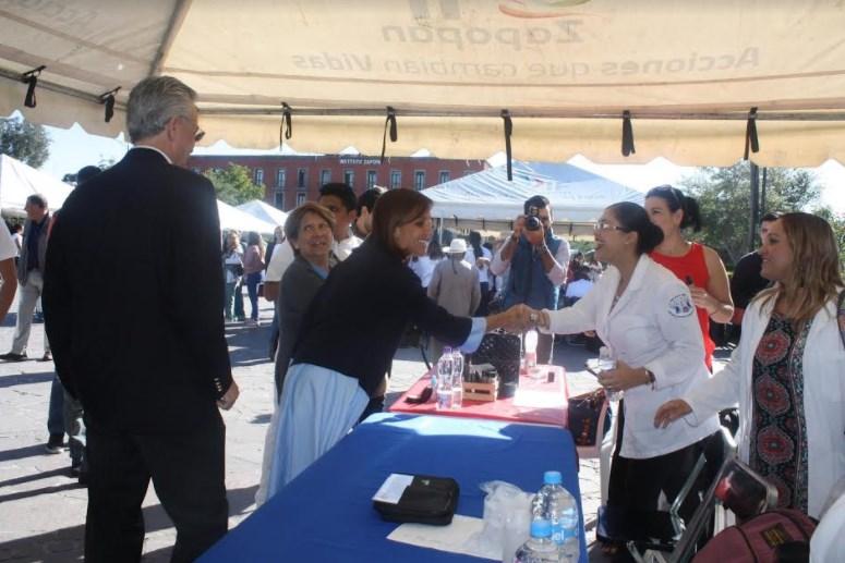 Zapopan conmemora Día Mundial de la Diabetes con feria de Salud
