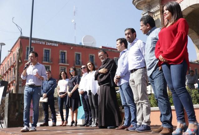 Con festival, presenta Zapopan renovación integral del Andador 20 de Noviembre