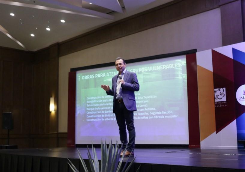 Comparte Pablo Lemus experiencia de Zapopan en el Foro Internacional Hablemos de Presupuestos Participativos Jalisco 2017
