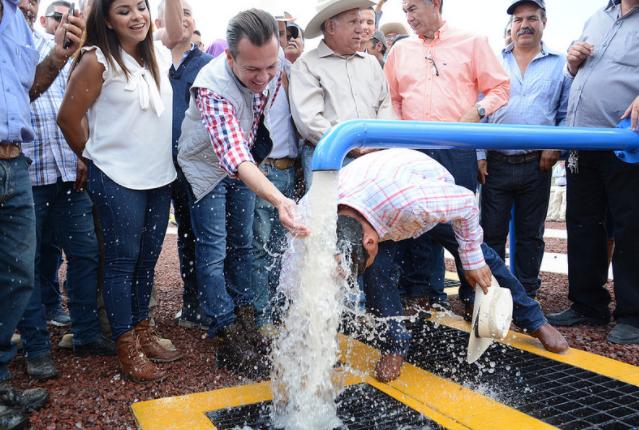 Entrega Zapopan infraestructura en Los Patios para brindar agua potable a la ciudadanía