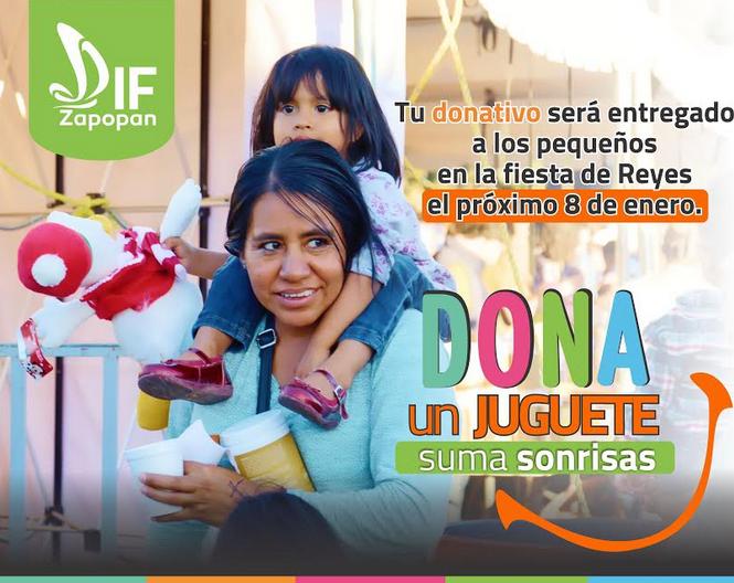 Invita Zapopan a donar juguetes para la población infantil