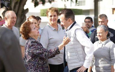 """""""Enchúlate Zapopan"""" ejecuta acciones de mejoramiento urbano en Paseos del Sol"""