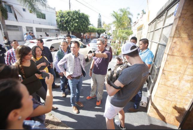 """""""Enchúlate Zapopan"""" brinda atención inmediata a vecinos de las colonias Casino y Prados Tepeyac"""