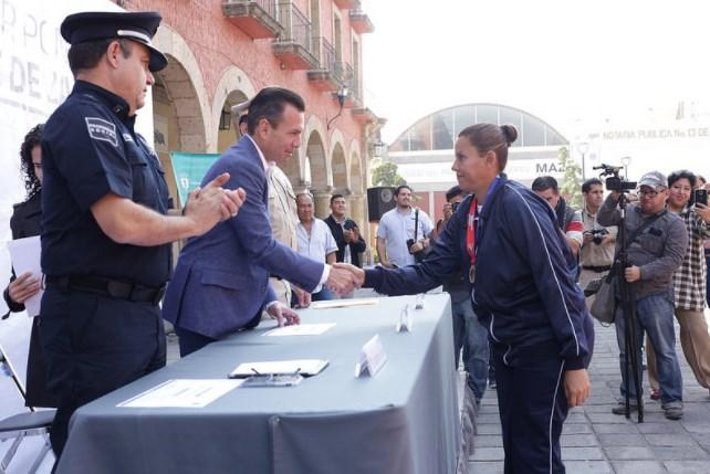 Reconoce Zapopan a elementos participantes en los V Juegos Latinoamericanos de Policías y Bomberos Guadalajara 2017