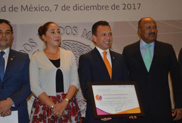 Zapopan, reconocido por SEGOB por avances en el programa Agenda para el Desarrollo Municipal 2017