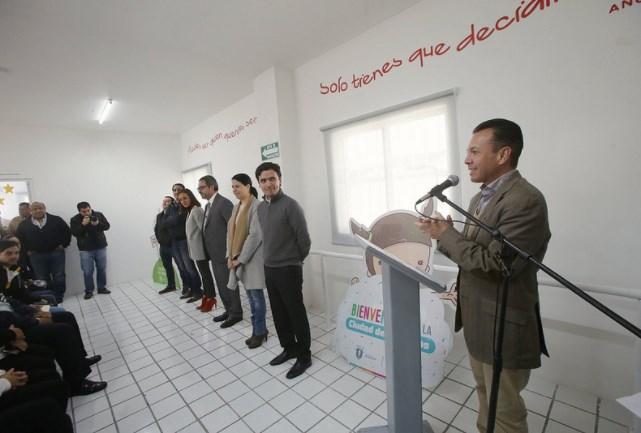 Inaugura Zapopan renovación realizada en el Centro de Desarrollo Comunitario (CDC) número 14, en la colonia El Briseño