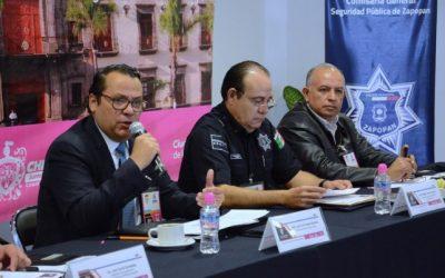 Zapopan, sede la Octava Reunión de la Comisión de Información de la Conferencia Nacional de Seguridad Pública Municipal (CNSPM)