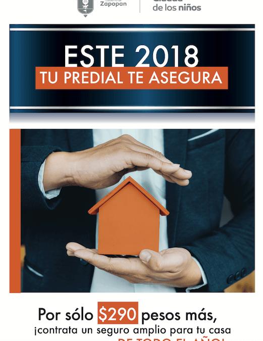 Asegura tu hogar al pagar tu predial