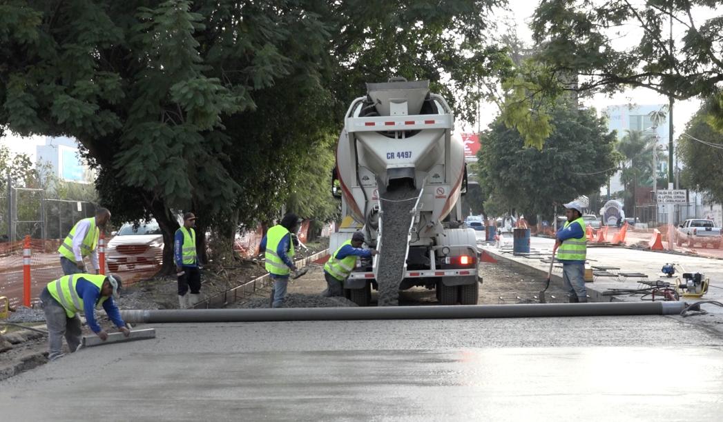 Circulación en López Mateos Sur, sin contratiempos por apertura de túneles