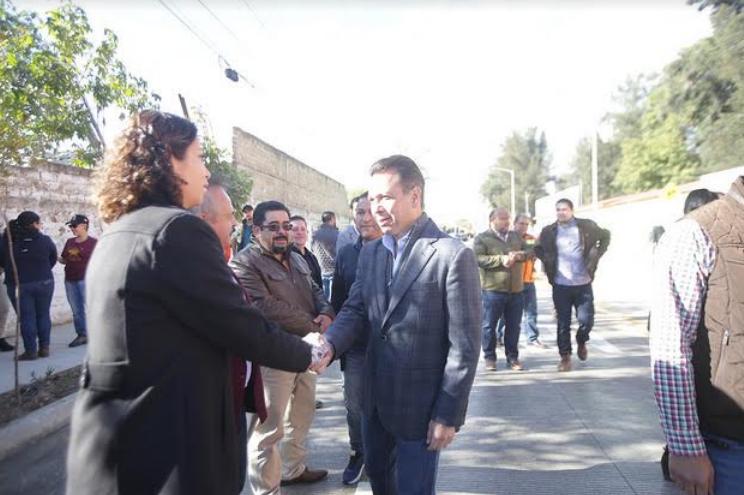 Pavimenta Zapopan avenida Guadalajara para fortalecer la conectividad en la colonia Nuevo México