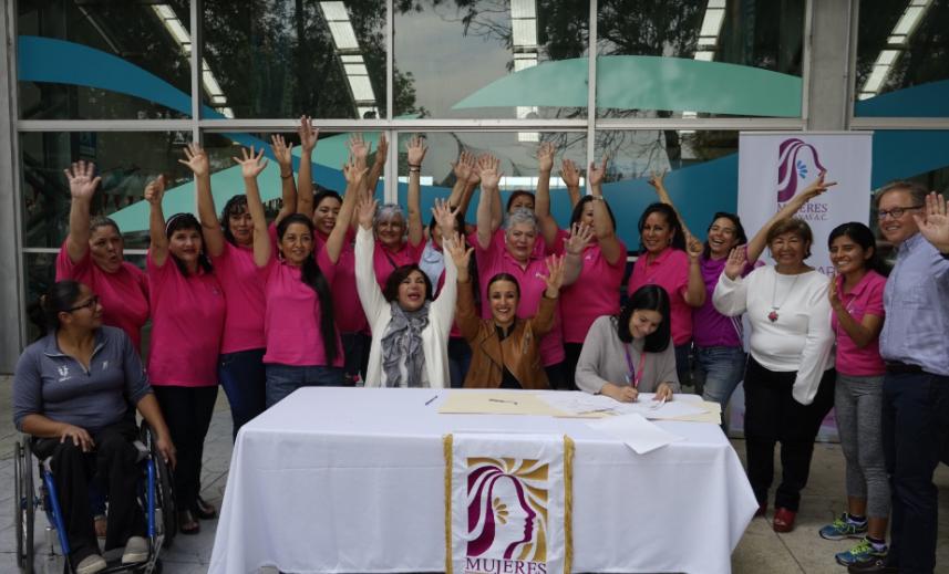 DIF Zapopan y COMUDE Zapopan refrendan colaboración para impulsar el programa 'Carril Rosa'