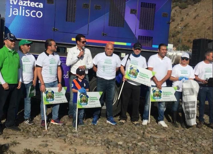 Zapopan participa en la jornada nacional Limpiemos Nuestro México
