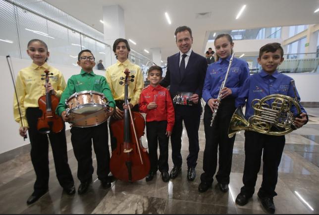 Debutan Orquesta Sinfónica y Coro Infantil Esperanza Azteca Zapopan