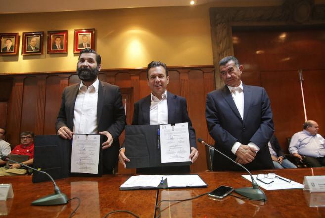 Firma Zapopan convenio de colaboración con la Cámara Mexicana de la Industria de la Construcción (CMIC)