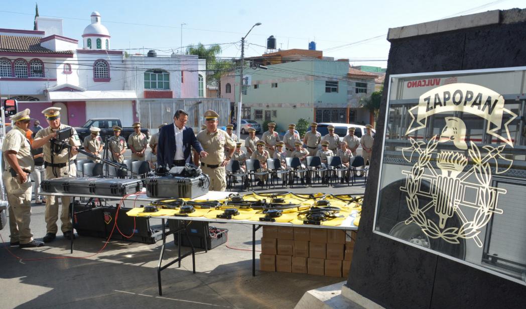 Fortalece Zapopan con equipamiento a la Coordinación Municipal de Protección Civil y Bomberos