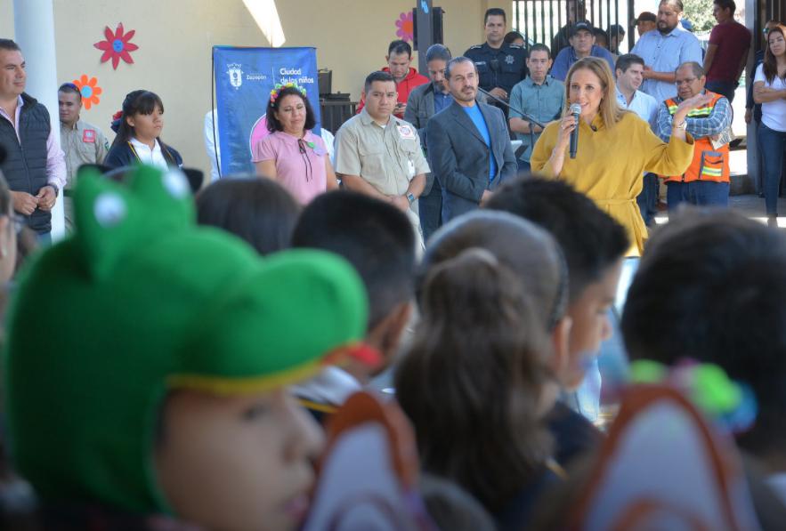 'Escuela con Estrella' ofrece espacios dignos para fortalecer la infraestructura escolar en San Isidro Ejidal