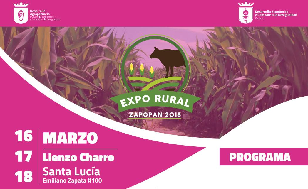 Expo Rural Zapopan 2018 – 16 al 18 de marzo, Lienzo Charro de Santa Lucía