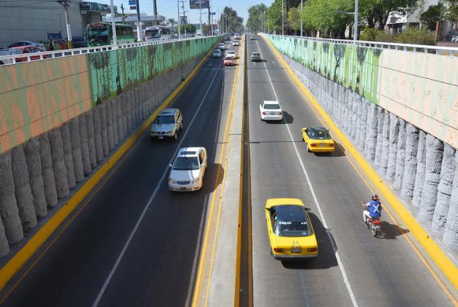 """Presenta Zapopan el mural """"Bosque de la Primavera"""" en avenida López Mateos"""