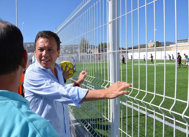 Fortalece Zapopan el deporte con primera etapa de la unidad deportiva Arenales Tapatíos