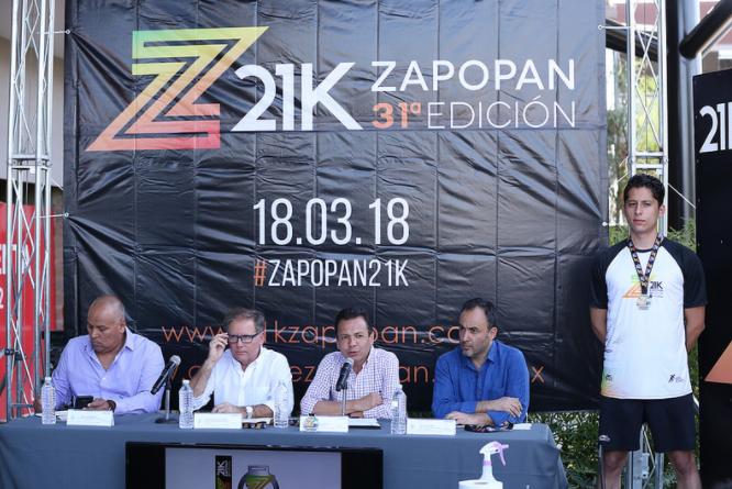 Presentan la edición 31 del Medio Maratón 21K Zapopan 2018
