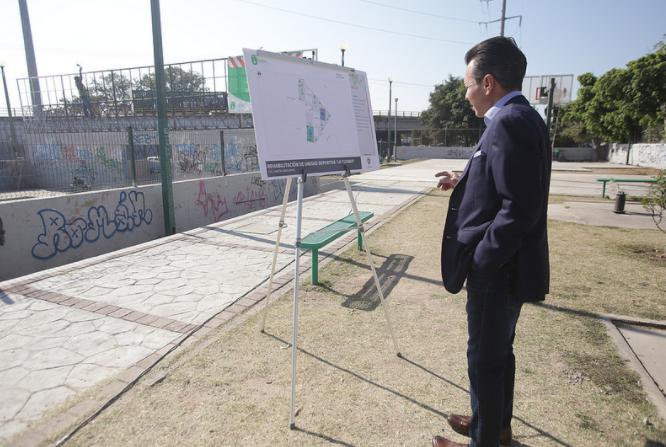 Inicia Zapopan, Ciudad de los Niños, rehabilitación de Unidad Deportiva 'La Tuzanía'