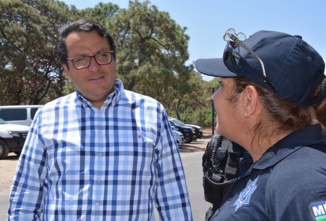 Supervisa José Luis Tostado Bastidas Operativo Semana Santa y Pascua Zapopan 2018 en Bosque La Primavera