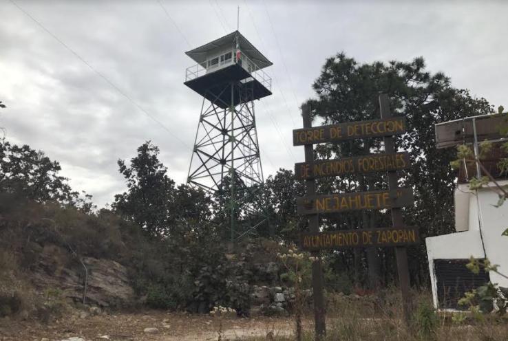 Inicia Zapopan operaciones de la torre Nejahuete para detectar incendios forestales