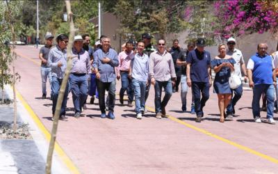 Dignifica Zapopan acceso al Centro Histórico con la renovación integral de la calle Eva Briseño