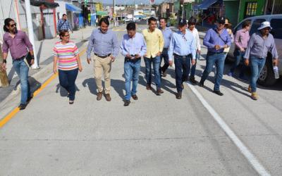 Interviene Zapopan calle San Pedro en la colonia Villas de Guadalupe