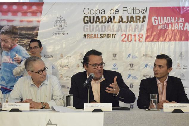 Presentan la Copa de fútbol Guadalajara Guadalajara 2018