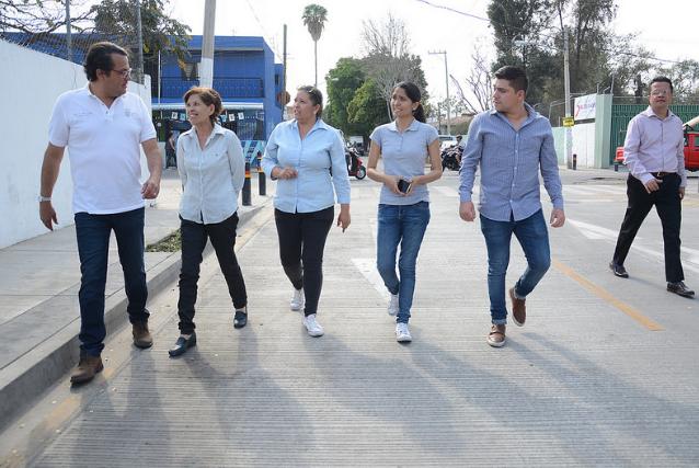 Presenta Zapopan pavimentación en la colonia Vicente Guerrero