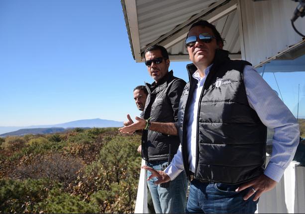 Supervisa Zapopan labores de brigadistas forestales en la torre de vigilancia El Nejahuete