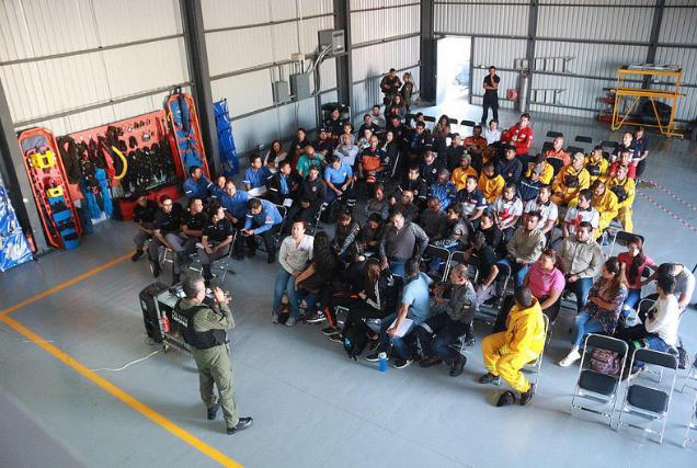 """Imparte Escuadrón """"Halcón"""" de Zapopan capacitación en operaciones aéreas"""
