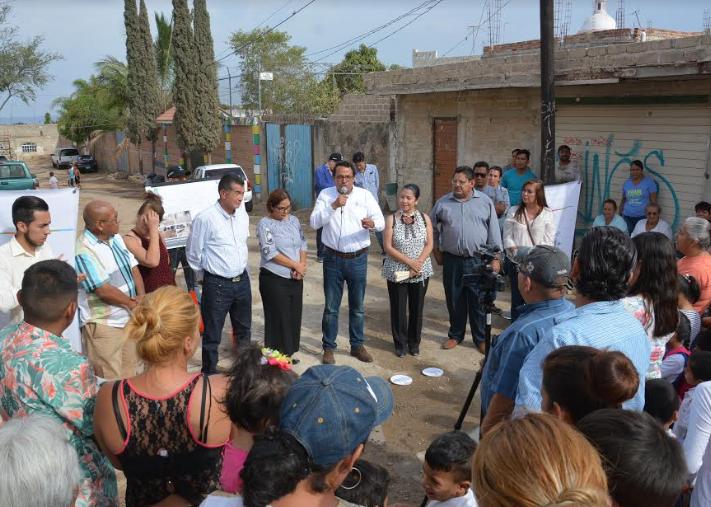 Presenta Zapopan infraestructura sanitaria en la colonia Vista Hermosa