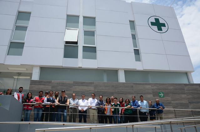 Supervisa Zapopan construcción de la Unidad Cruz Verde en Villas de Guadalupe