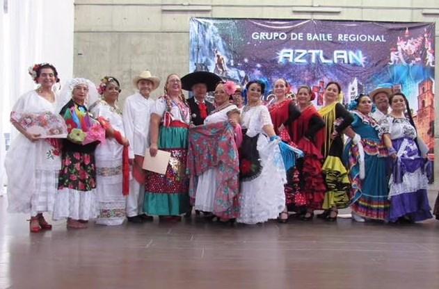 Celebra Ballet Regional Aztlán de adultos mayores su decimoquinto aniversario