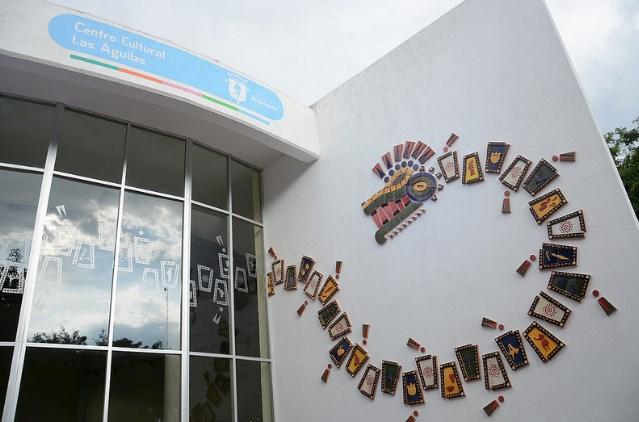 Inauguran mural cerámico 'Quetzacóatl…energía etérea' en el Centro Cultural Las Águilas