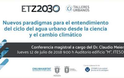El ciclo del agua, tema central del tercer taller urbano organizado por ONU-Habitat para la ETZ2030